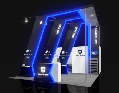 Balter Security exhibition stand