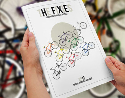 THE FIXIES. InDesign Product catalogue template.