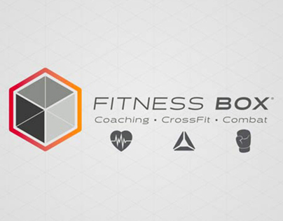 Brand Identity - Fitness Box in Strasbourg