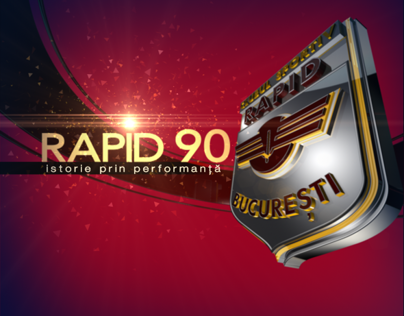 F.C. RAPID 90th Anniversary - Work in Progress