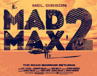 Mad Max 2 - Alternative Movie Poster
