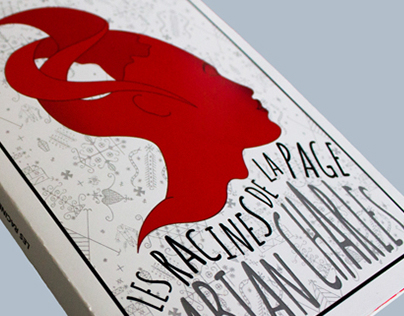 Les Racines de la Page - Book Cover Design