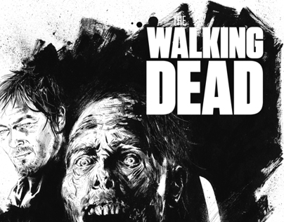 Illustration - The Walking Dead