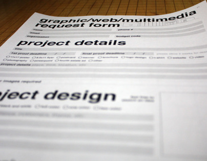 UWGB Graphic Request Form