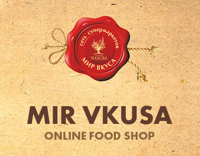 Mir vkusa — online food shop