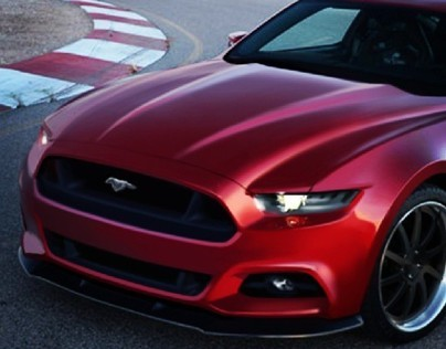 2014.5 Ford Mustang Speculative Rendering