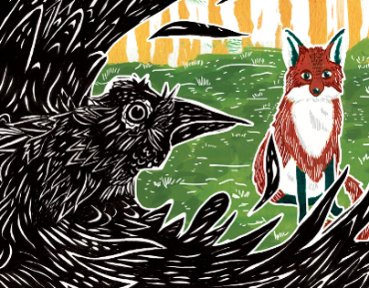 Aesops The Fox and the Crow