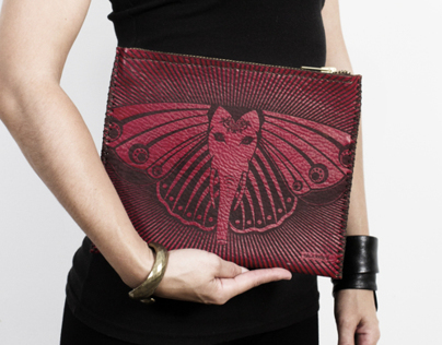 GANESH BUTTERLY LETHER CLUTCHES