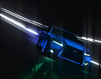 LEXUS GS Blacklight Design