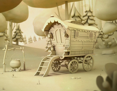 Gipsy Wagon Background