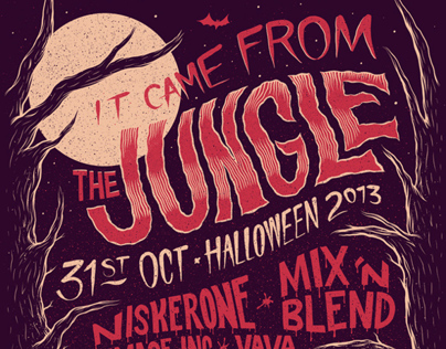 It Came From The Jungle: Halloween 2013