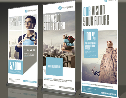 Corporate Banner or Rollup Vol 3