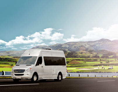 Automotive Retouching - Leisure Travel Vans