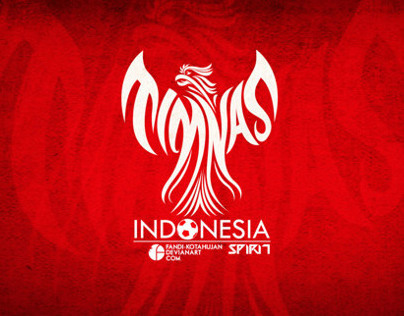 TSHIRT SUPPORT TIMNAS INDONESIA