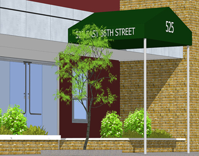New Canopy & Awning Sketchup Model and Presentation