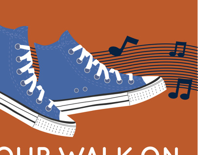 Get Your Walk On Posters
