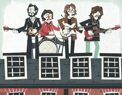 The Beatles - Let it be rooftop concert