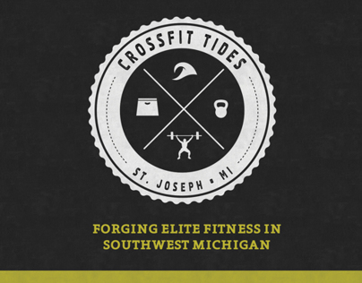 Crossfit Tides Branding & Website Design