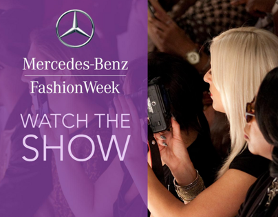 Mercedes Benz Fashion Week Project