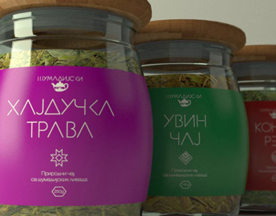 Tea labels Šumadija čaj