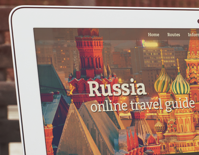 Russia Travel Guide: Responsive Design