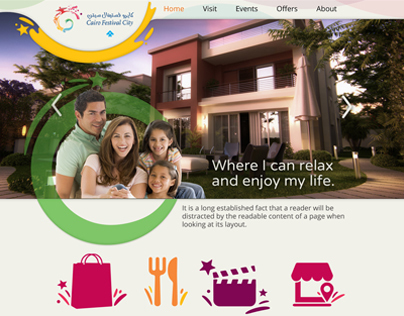 Cairo Festival City - Website