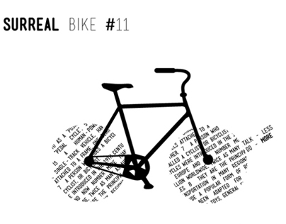 Surreal bikes and real thoughts