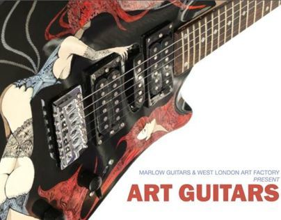 Marlow Art Guitars