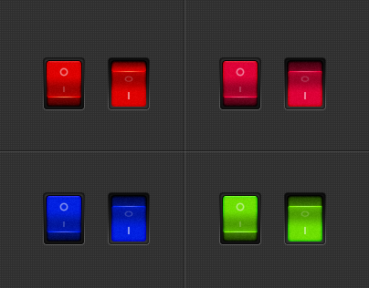 Free download Multicolor-switch Layered PSD file