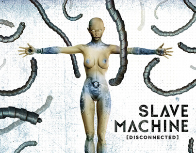 Slave Machine Disconnected Digipak Album artwork
