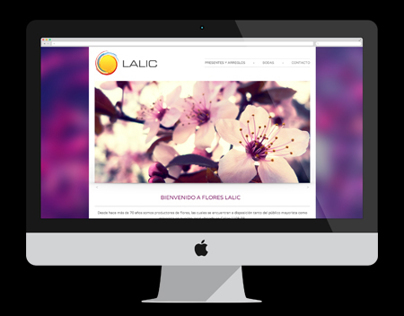 Flores Lalic Website