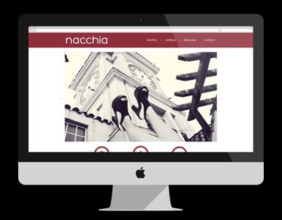 Nacchia Shoes Website