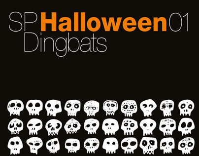 SP Halloween, Dingbat fonts