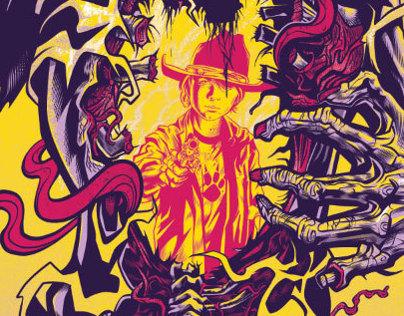 The Walking Dead Gallery Print
