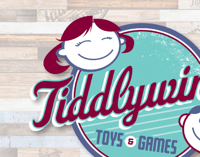 Tiddlywinks Toys and Games identity