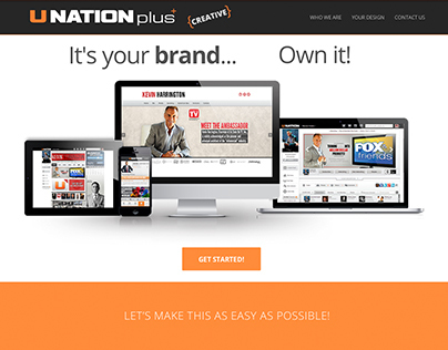UNATION PLUS Creative - Web