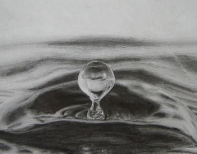 Water Drop Sketch