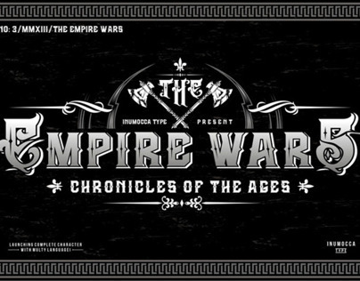 The Empire wars font