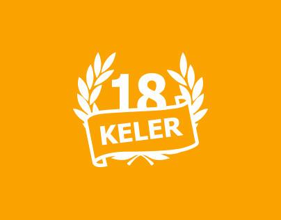Keler 18 beer packaging and logo redesign