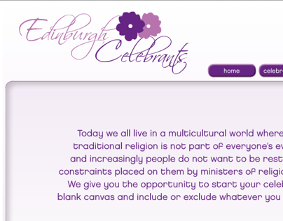 Edinburgh Celebrants Website