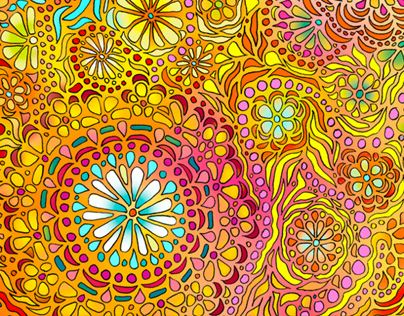 Flower Power Pattern