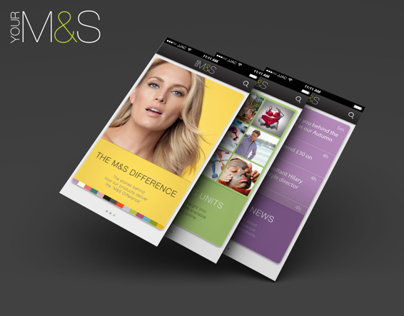 Marks & Spencer - Knowledge to Share App