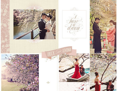 Erick & Levina Pra Wedding Album Design, photo by HOP