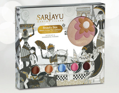 Sariayu Beauty Box - Beauty Across The Continent