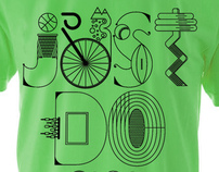 NIKE x Type illustrations 2010