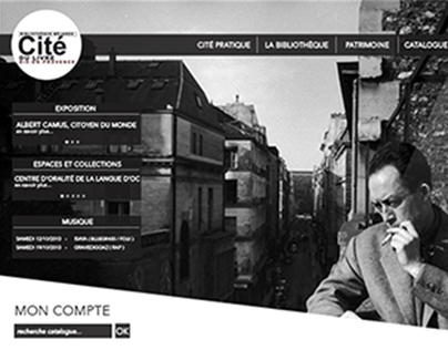Cité du Livre - Website Redesign