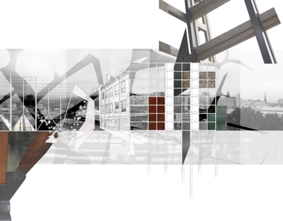 3D composition - Sheffield site analysis project