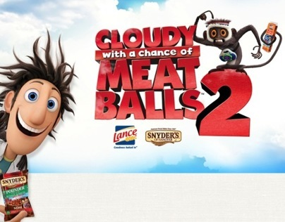 Snyder's Lance - Cloudy with a Chance of Meatballs 2