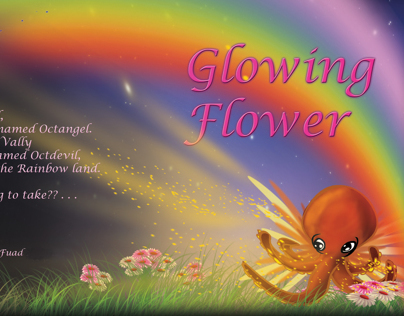. . Glowing Flower . .