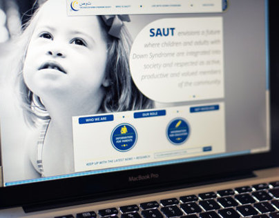 Down Syndrome Advocacy Website Design Concept